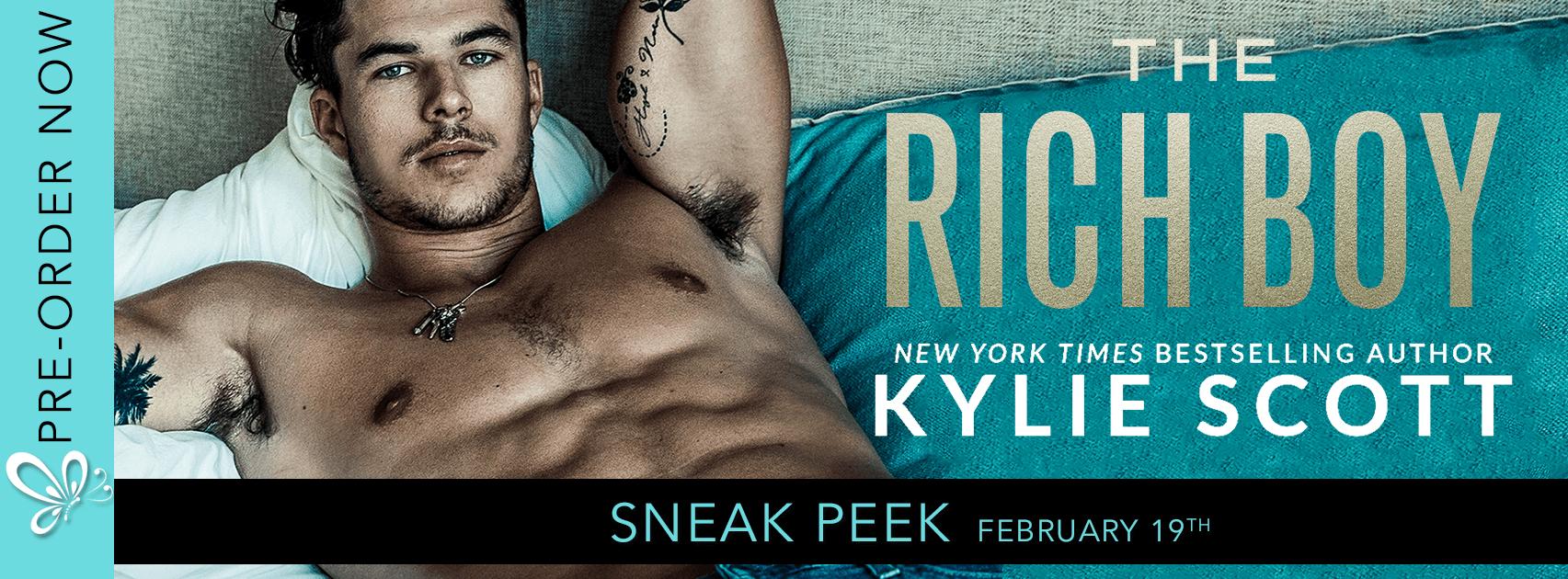 Sneak Peek: The Rich Boy by Kylie Scott