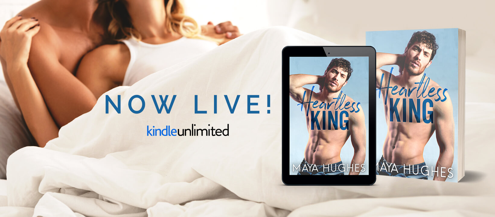 Blog Tour Review with Excerpt:  Heartless King (Kings of Rittenhouse #5) by Maya Hughes