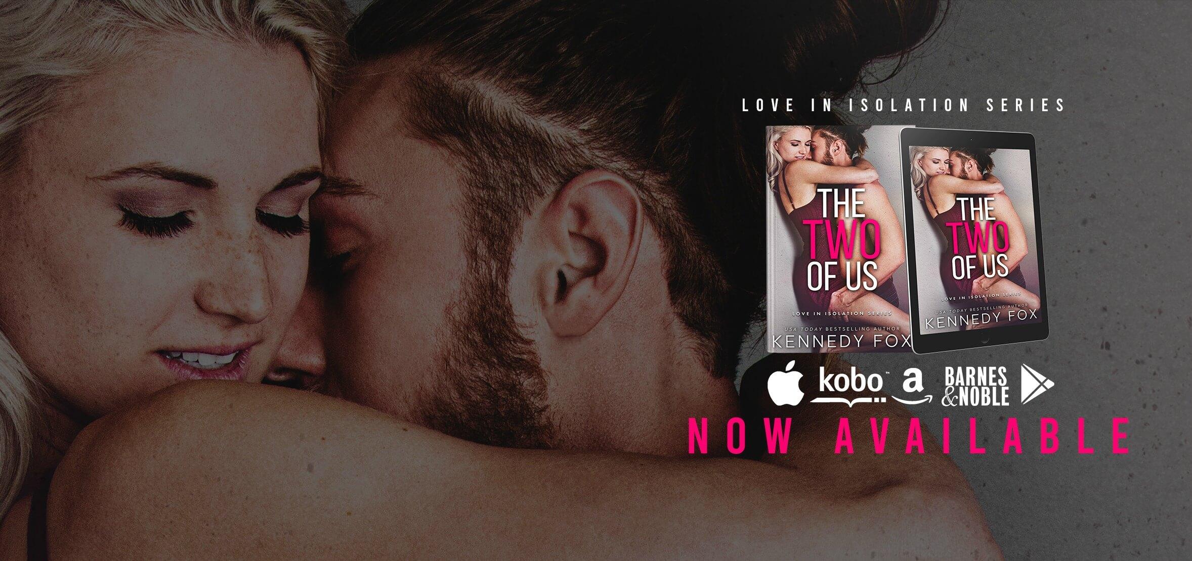 Blog Tour Review:  The Two of Us (Love in Isolation #1) by Kennedy Fox