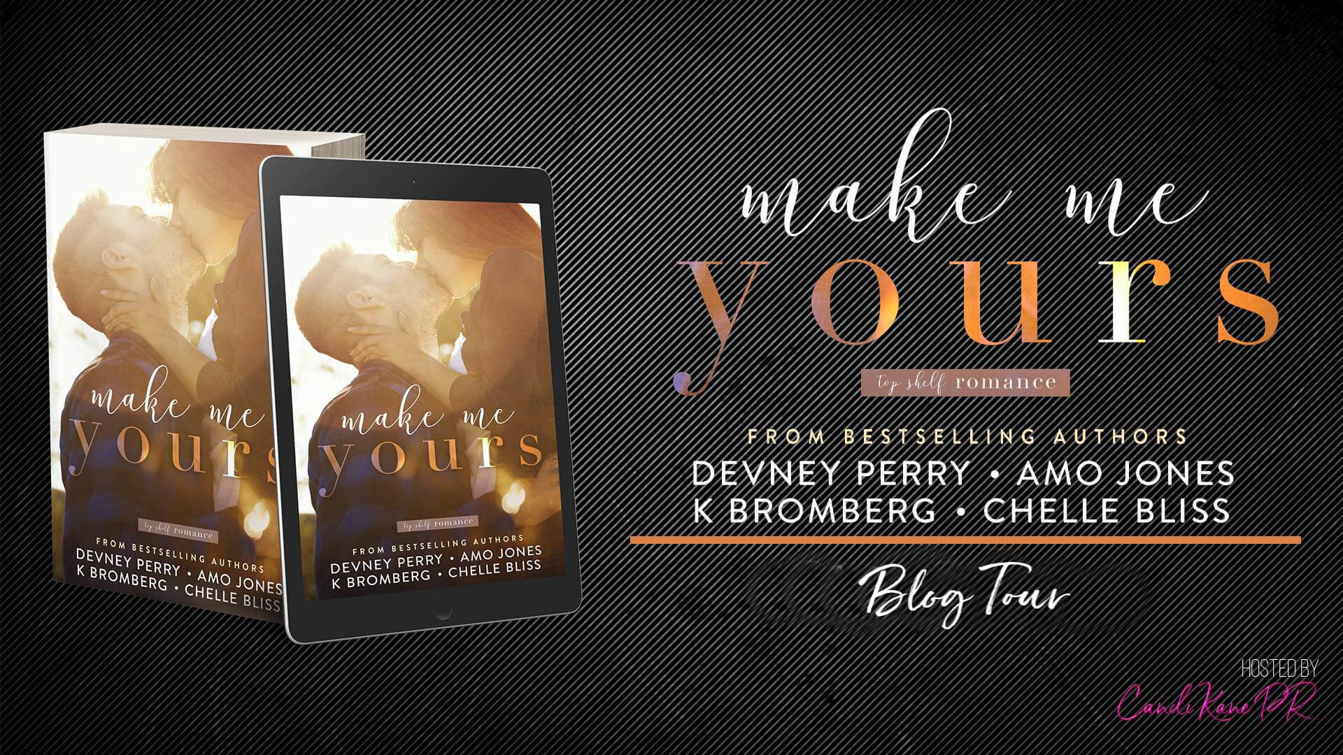 Blog Tour:  Make Me Yours - Top Shelf Romance Collection #4