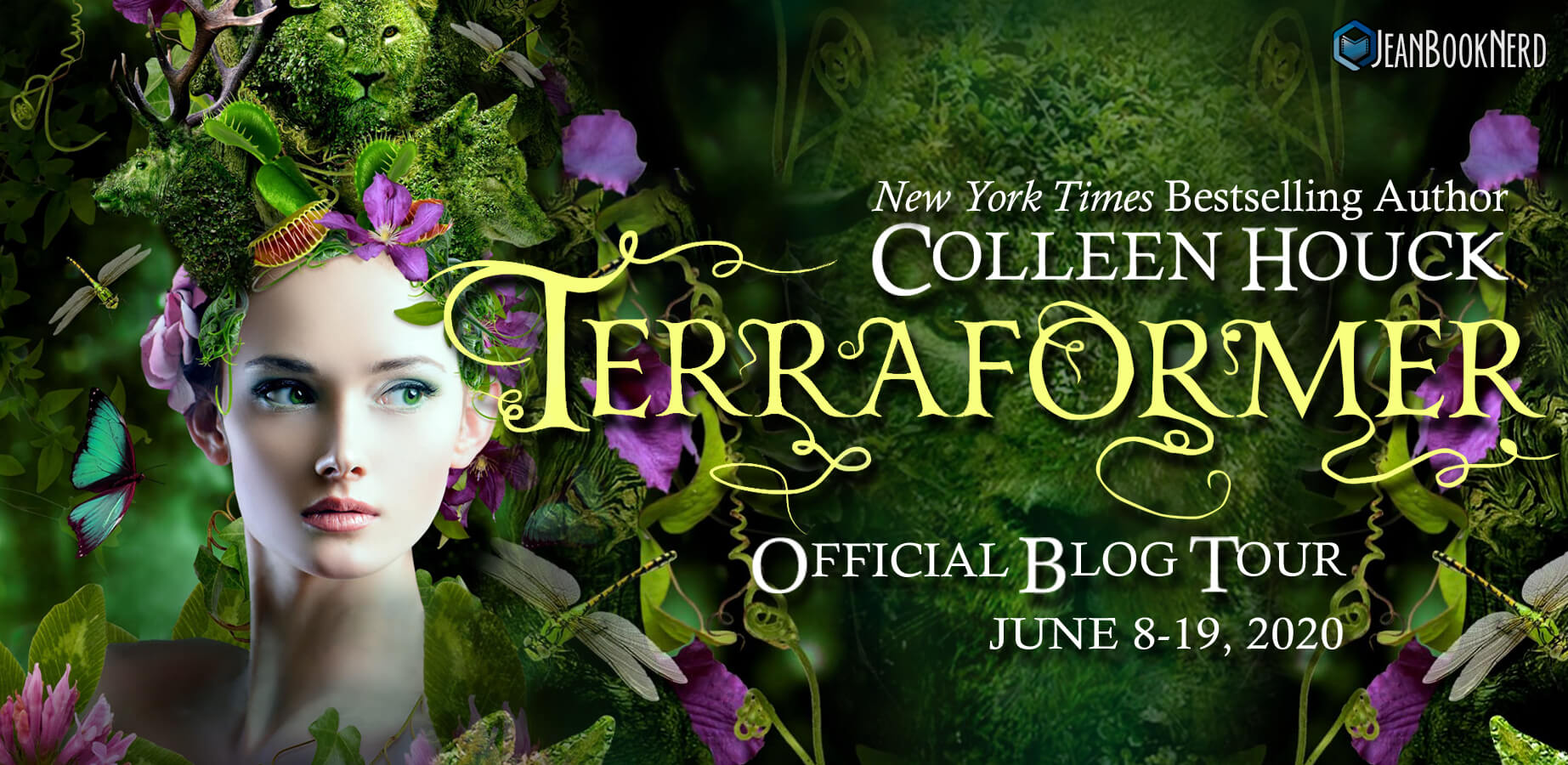 Blog Tour Review with Giveaway:  Terraformer by Colleen Houck