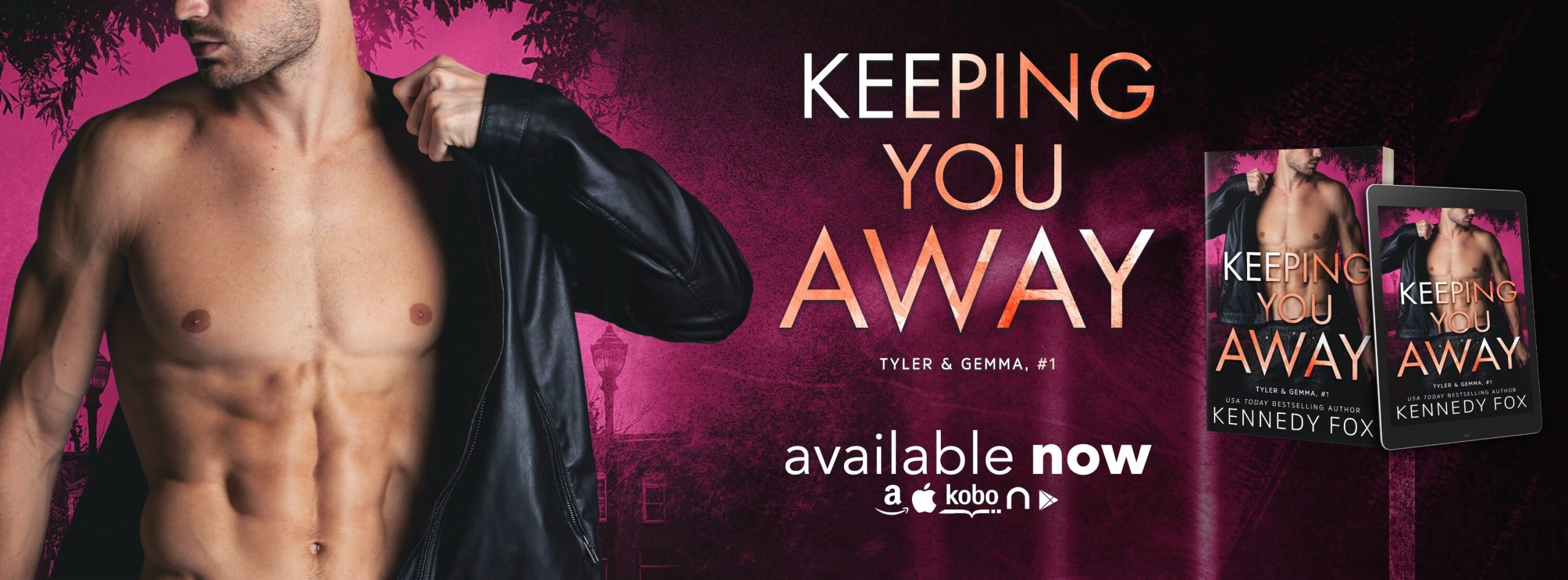 Blog Tour Review:  Keeping You Away (Tyler & Gemma #1, Ex-Con Duet Series #1) by Kennedy Fox
