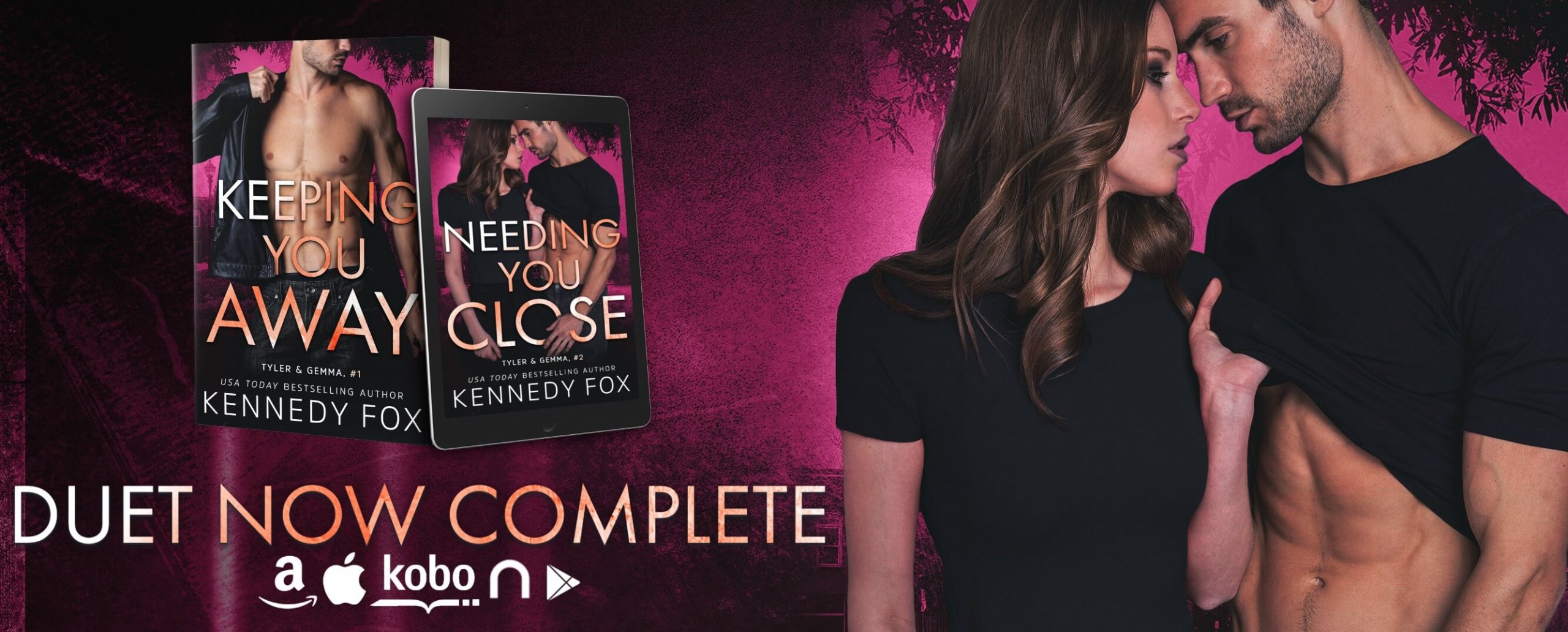 E-galley Review:  Needing You Close (Tyler & Gemma #2, Ex-Con Duet Series #2) by Kennedy Fox