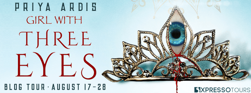Blog Tour Author Interview with Giveaway:  Girl With Three Eyes by Priya Ardis
