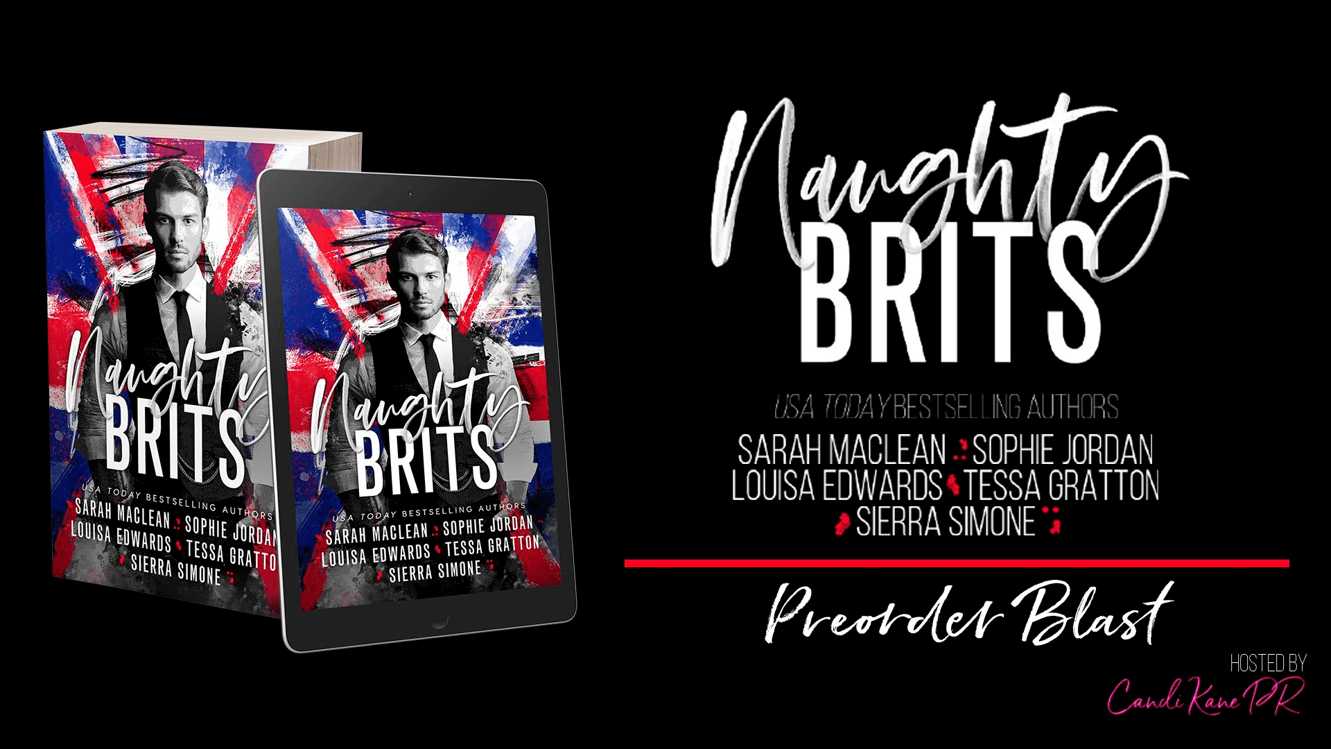 Pre-Order Blast for Naughty Brits!