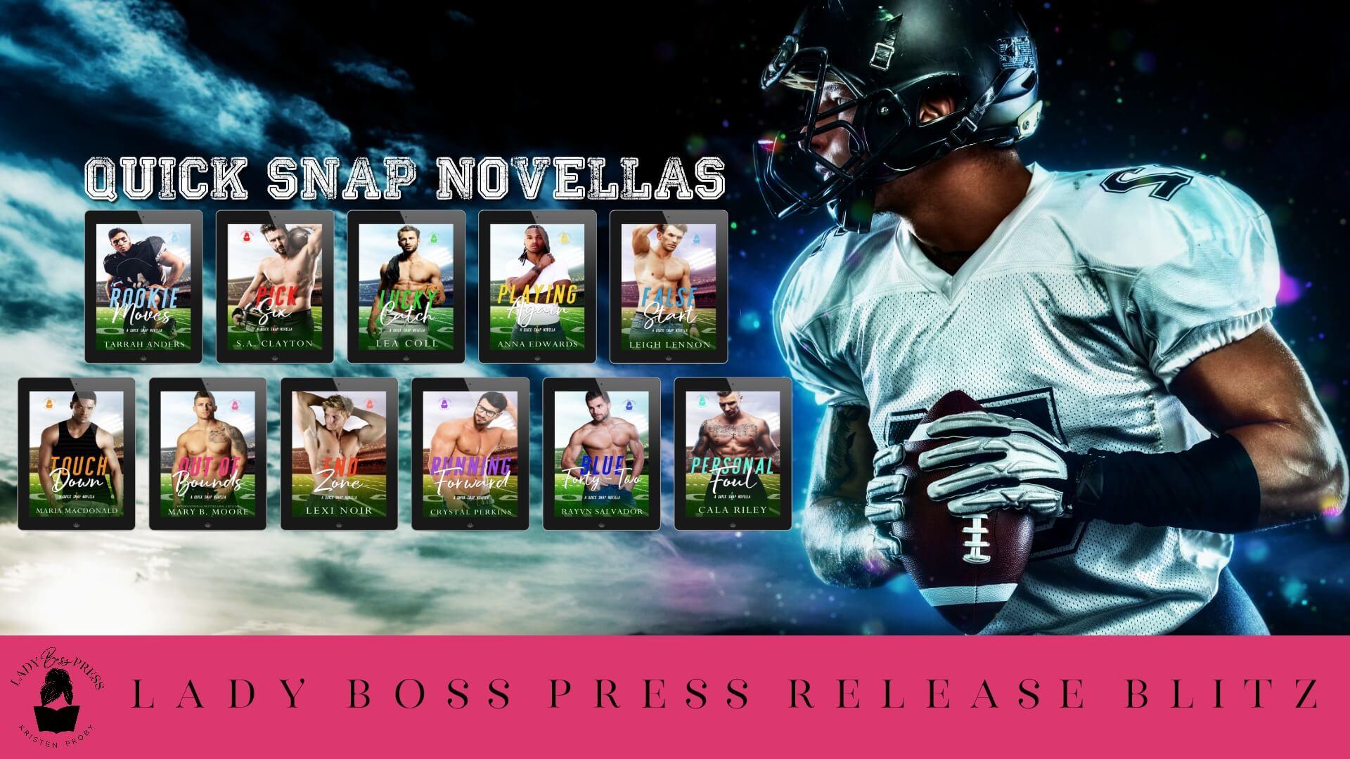 Release Day Blitz:  Quick Snap Novellas