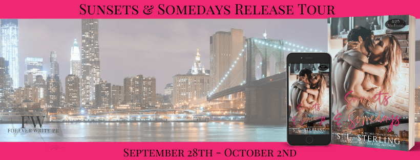 Blog Tour Review:  Sunsets and Somedays (425 Madison Ave #21) by S.L. Sterling