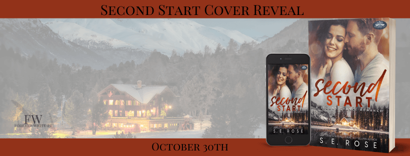Cover Reveal:  Second Start (Holiday Springs Resort #5) by S.E. Rose
