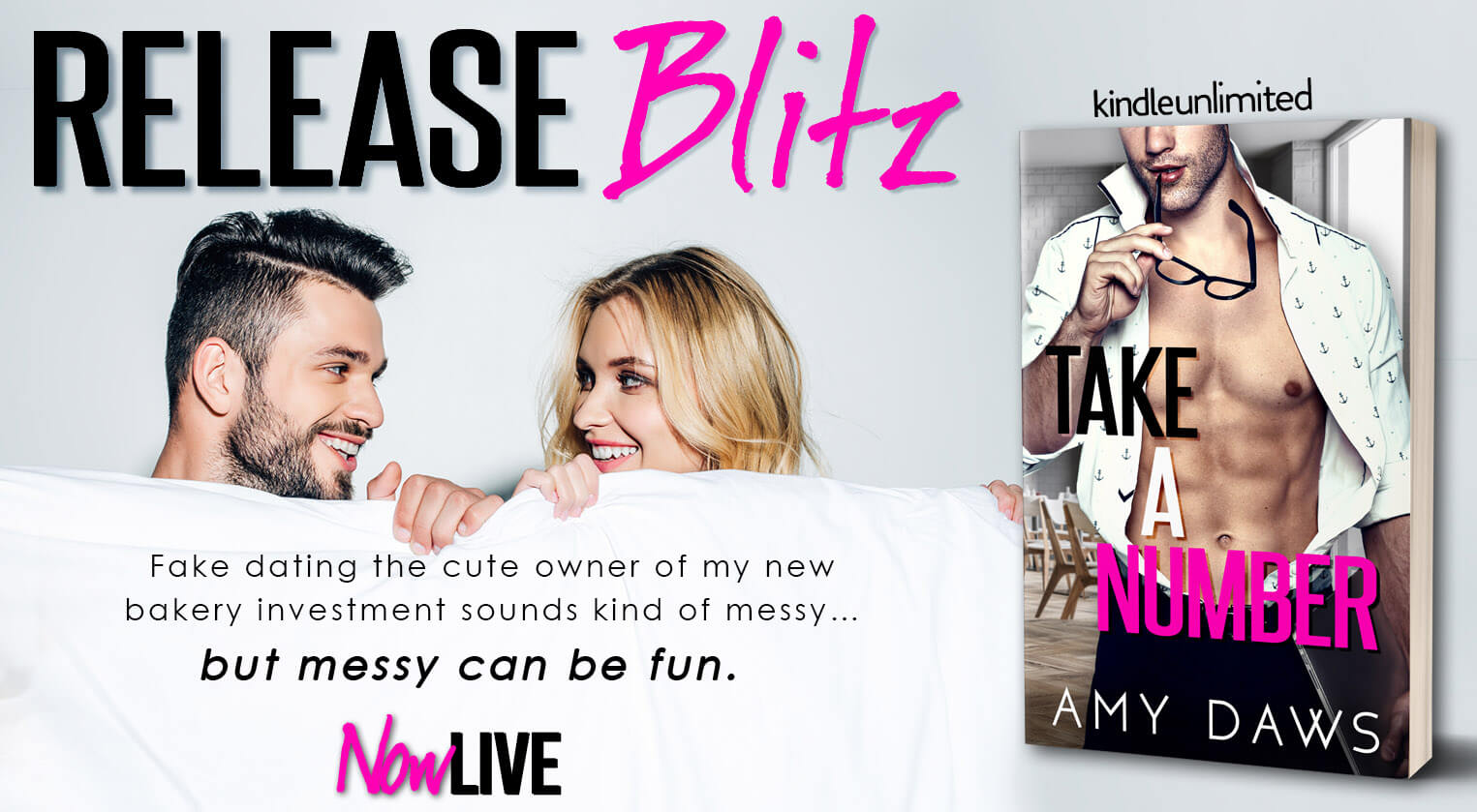 Release Blitz Review with Giveaway:  Take a Number (Wait With Me #4) by Amy Daws