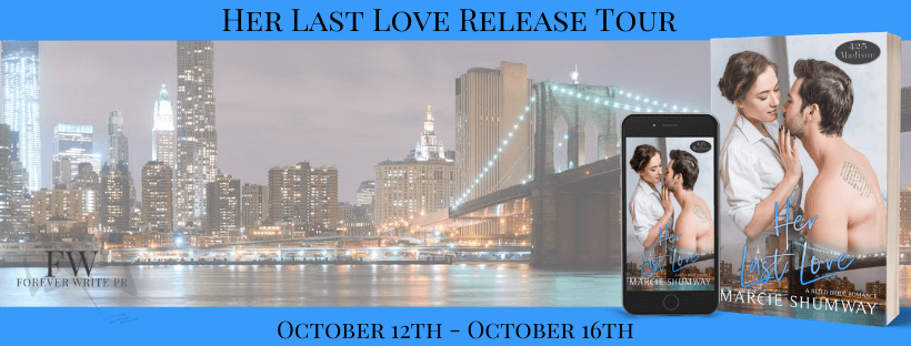 Blog Tour Review:  Her Last Love (425 Madison Ave #22) by Marcie Shumway