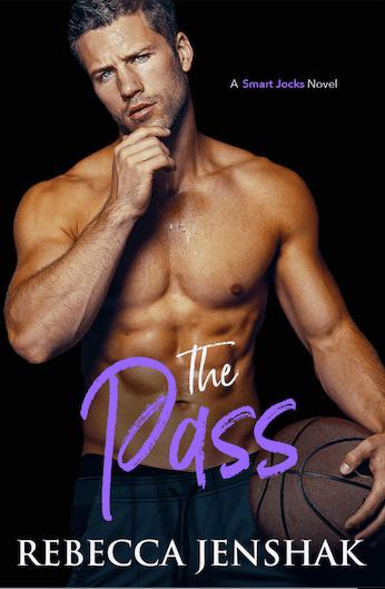 Cover Reveal:  The Pass (Smart Jocks #5) by Rebecca Jenshak