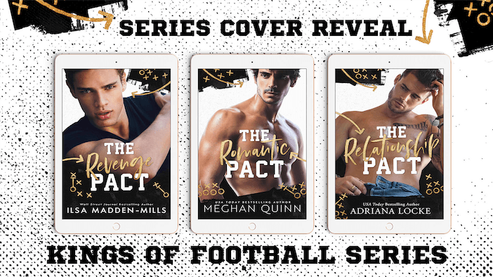 Cover Reveal:  Kings of Football Series