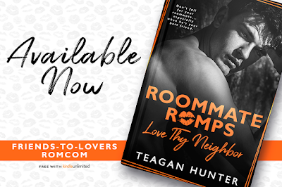 Release Blitz Review:  Love Thy Neighbor (Roommate Romps #2) by Teagan Hunter