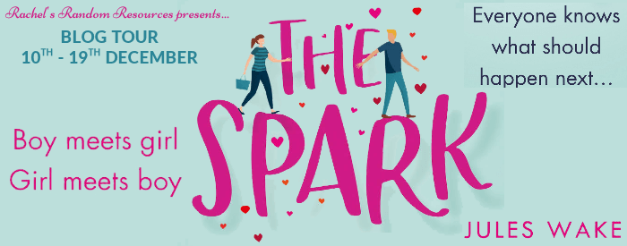 Blog Tour:  The Spark by Jules Wake