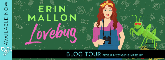 Blog Tour Review:  Lovebug (Natural History #2) by Erin Mallon