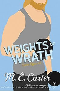 Blog Tour Review:  Weights of Wrath (Cipher Office #4) by M.E. Carter