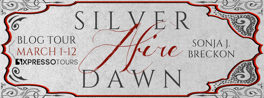 Blog Tour Author Interview with Giveaway:  Silver Dawn Afire by Sonja J. Breckon