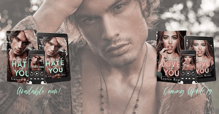 Blog Tour: Falling Out of Hate with You (Hate-Love Duet #1) by Lauren Rowe