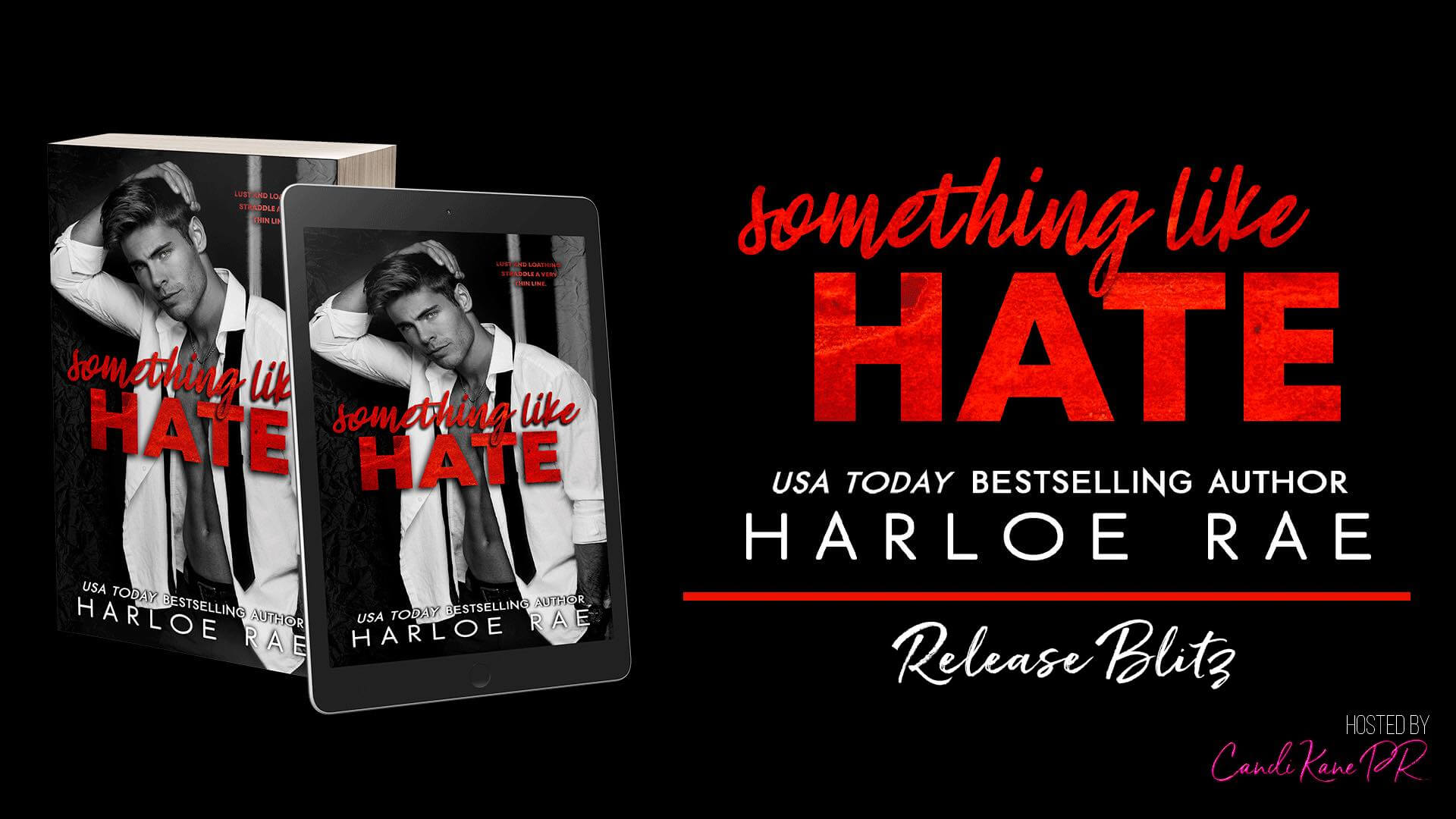 Release Blitz with Giveaway:  Something Like Hate by Harloe Rae
