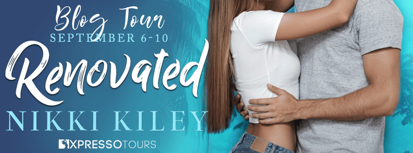 Blog Tour Author Interview with Giveaway:  Renovated by Nikki Kiley