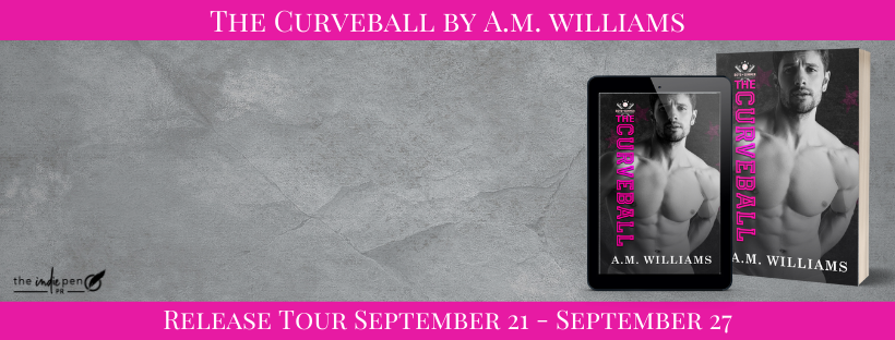 Blog Tour:  The Curveball (Boys of Summer #6) by A.M. Williams